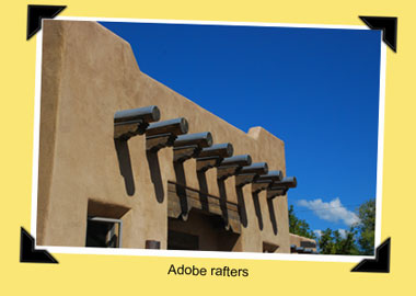 adobe rafters